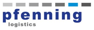 pfenning logistics Mitarbeiteraktionen Logo